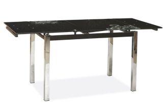 Jídelní stůl GD-017 rozkládací černý
