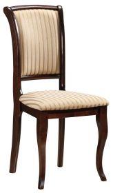 Jídelní čalouněná židle MN-SC ořech/T19