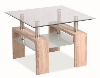 Konferenční stolek LISA D BASIC dub sonoma