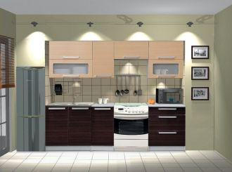 Kuchyně MERCURY Zebra P240