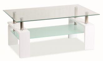 Konferenční stolek LISA BASIC bílý