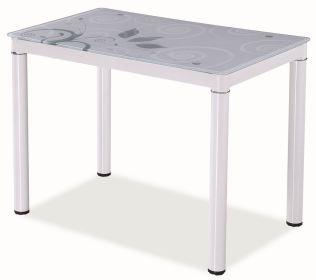 Jídelní stůl DAMAR bílý