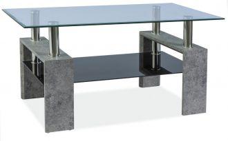 Konferenční stolek LISA III šedý kámen