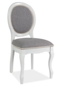 Jídelní čalouněná židle FN-SC bílá