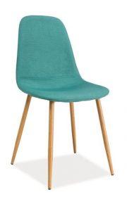 Jídelní čalouněná židle FOX mátová