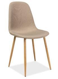 Jídelní čalouněná židle FOX béžová