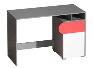 FUTURO F8 pracovní stůl grafit/bílá/výběr barev