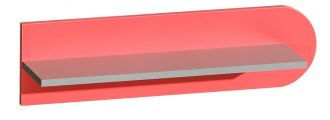 závěsná police FUTURO F10 grafit/výběr barev
