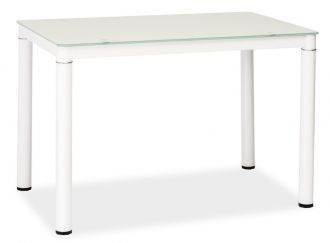 Jídelní stůl GALANT bílý 70x110