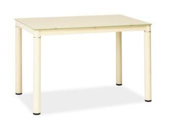 Jídelní stůl GALANT krémový 60x100 II