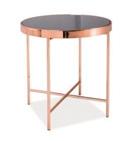 Odkládací stolek GINA C měď