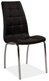 Jídelní čalouněná židle H-104 černá