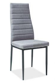 Jídelní čalouněná židle H-265 šedá