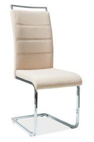 Jídelní čalouněná židle H-441 béžová látka