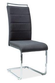 Jídelní čalouněná židle H-441 černá látka