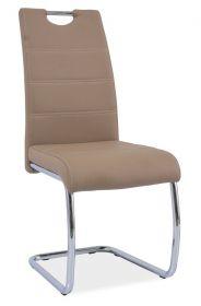 Jídelní čalouněná židle H-666 tmavě béžová
