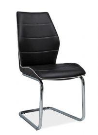 Jídelní čalouněná židle H-331 černá