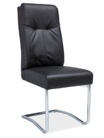 Čalouněná židle H-340 černá