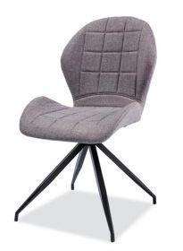 Jídelní čalouněná židle HALS II šedá