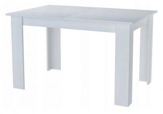 Jídelní stůl rozkládací MANGA 120(170)x80 bílá