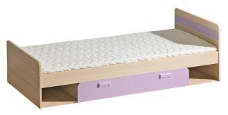 Dětská postel  LIMO L13 s úložným prostorem fialová