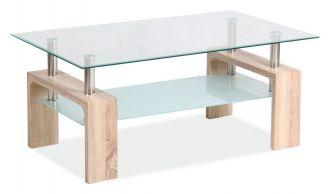 Konferenční stolek LISA BASIC II dub sonoma