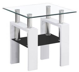 Konferenční stolek LISA D bílý