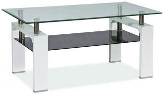 Konferenční stolek LISA II bílý lak