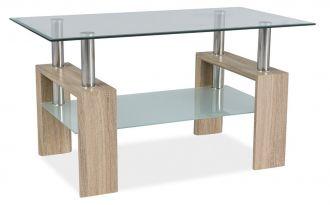 Konferenční stolek LISA III dub sonoma