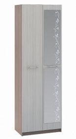 Šatní skříň 2-dveřová WK-112 MARTA jasan šimo