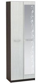 Šatní skříň 2-dveřová WK-112 MARTA dub belfort/wenge