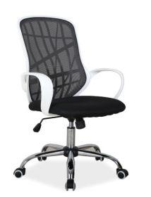 Kancelářské křeslo DEXTER černá/bílá