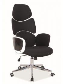 Kancelářské křeslo Q-888 černá/bílá
