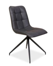 Jídelní čalouněná židle OLAF šedá