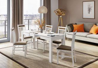 Jídelní stůl rozkládací NOTO 2 bílá