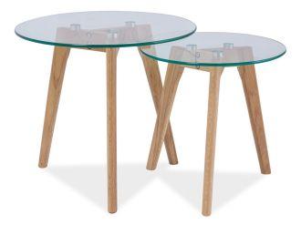 2SET konferenční stolky sestava OSLO S2