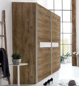 Šatní skříň s posuv. dveřmi PAMELA 862 divoký dub