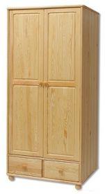 Šatní skříň FS-122 /2-dvéřová, masiv borovice