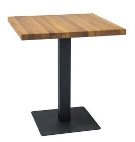 Jídelní stůl PURO dub masiv 70x70 cm