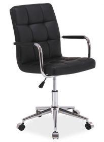 Kancelářská židle Q-022 černá