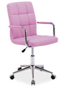 Studentská židle Q-022 růžová