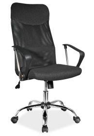 Kancelářská židle Q-025 černá látka