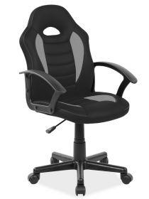 Kancelářské křeslo Q-101 černá/šedá