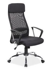 Kancelářské křeslo Q-345 černá