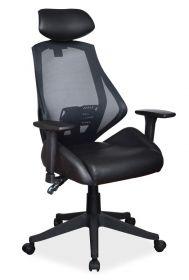 Kancelářské křeslo Q-406 černá
