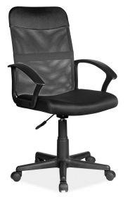 Kancelářská židle Q-702 černá látka