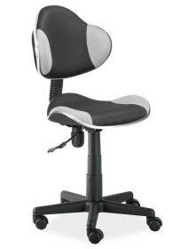 Studentská židle Q-G2 černá/šedá