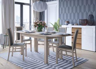 Jídelní stůl rozkládací PAOLA sonoma