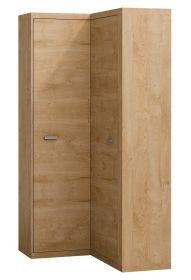 Rohová šatní skříň NATURAL N14L dub ribbeck