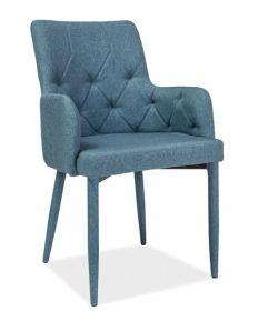 Jídelní čalouněná židle RICARDO denim